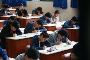 Ayer culminó examen de admisión en la UNI. Foto: ANDINA/Jhony Laurente.
