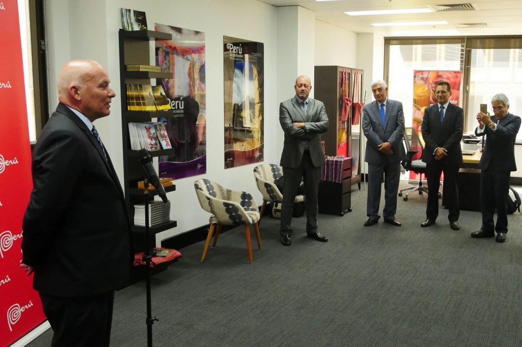 Perú inauguró oficina comercial en Australia
