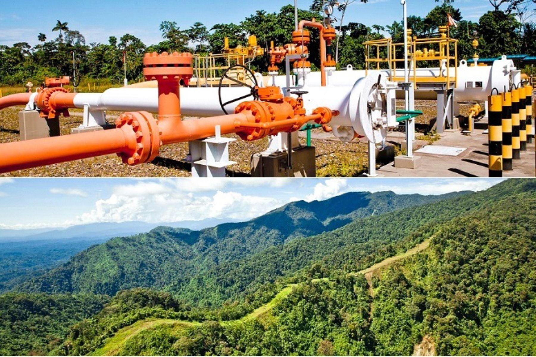 Gas natural. ANDINA/Difusión