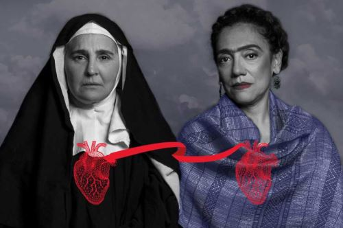 """Monserrat Brugué y Magali Bolívar juntas en """"Cintas de seda"""". ANDINA/Difusión"""