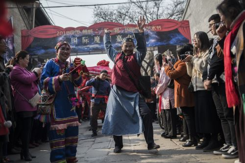 La espectacular celebración china por el año del perro
