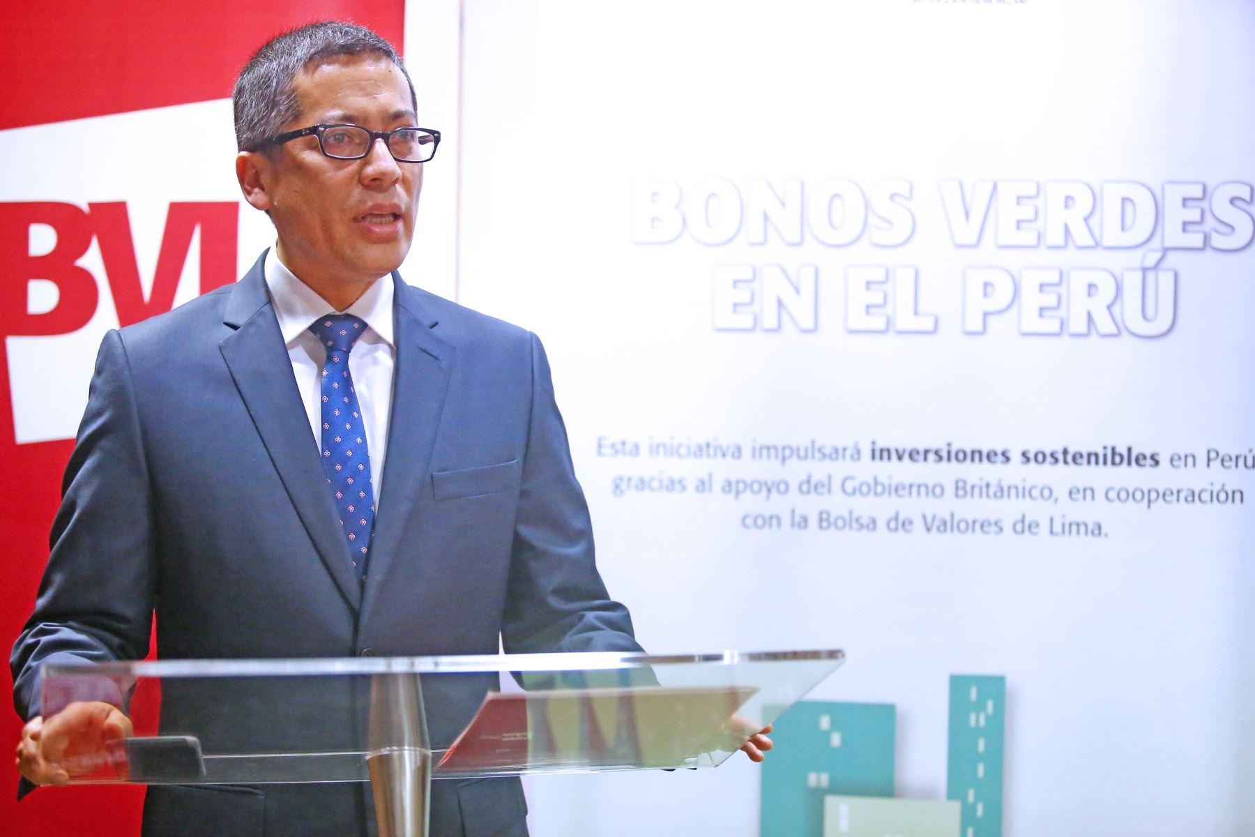 Viceministro de Desarrollo Estratégico de los Recursos Naturales del Minam, Willian León. ANDINA/Melina Mejía