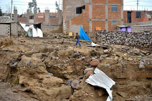 Intensas lluvias en Arequipa