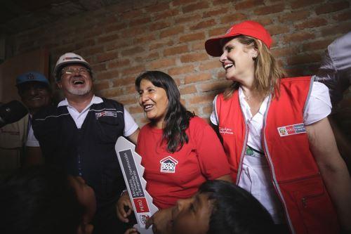 Presidenta del Consejo de Ministros, Mercedes Aráoz en la región La Libertad Foto: PCM