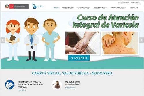 Curso es organizado por la Escuela Nacional de Salud Pública. Foto: Difusión