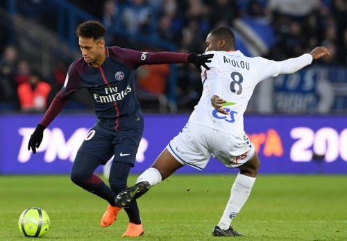 Victoria de 5-2 del Paris Saint-Germain ante el Strasbourg.
