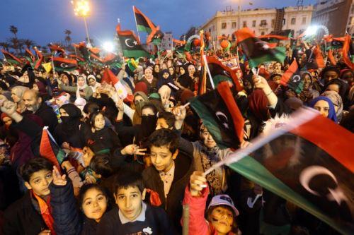 Libia en el séptimo aniversario de la revolución que derrocó a Moamer Kadhafi.