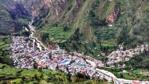 Distrito de Yanahuanca alcanzóar unacumulado de 25.6 milímetros de agua.