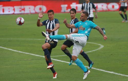 Sporting Cristal ganó 2 a 0 al  Alianza Lima