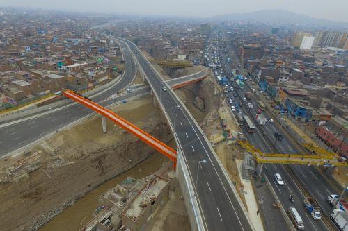 Megaproyecto vial Línea Amarilla está prácticamente listo