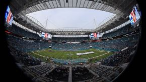 Hard Rock Stadium de Miami. Foto: AFP.