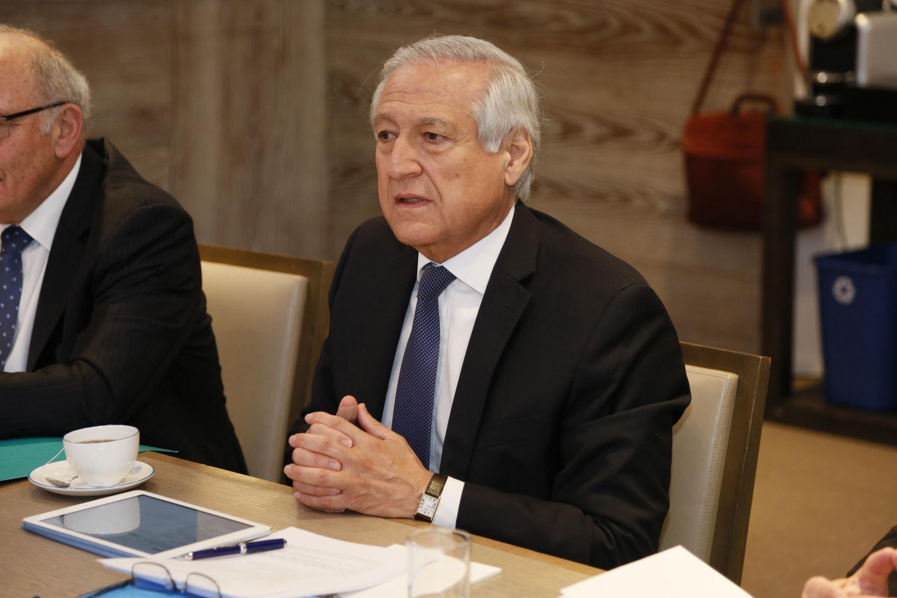 La agenda del canciller Muñoz en Francia