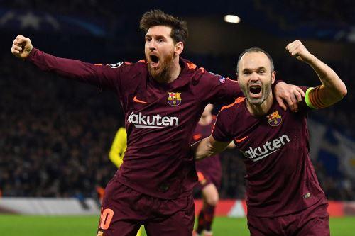 Barcelona empata de visitante al Chelsea