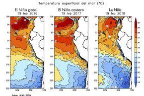 El Servicio Nacional de Meteorología e Hidrología del Perú (Senamhi) descartó la ocurrencia de El Niño Costero este año, al sostener que las condiciones meteorológicas que se presentan en el norte del país no se asemejan a lo sucedido en 2017.