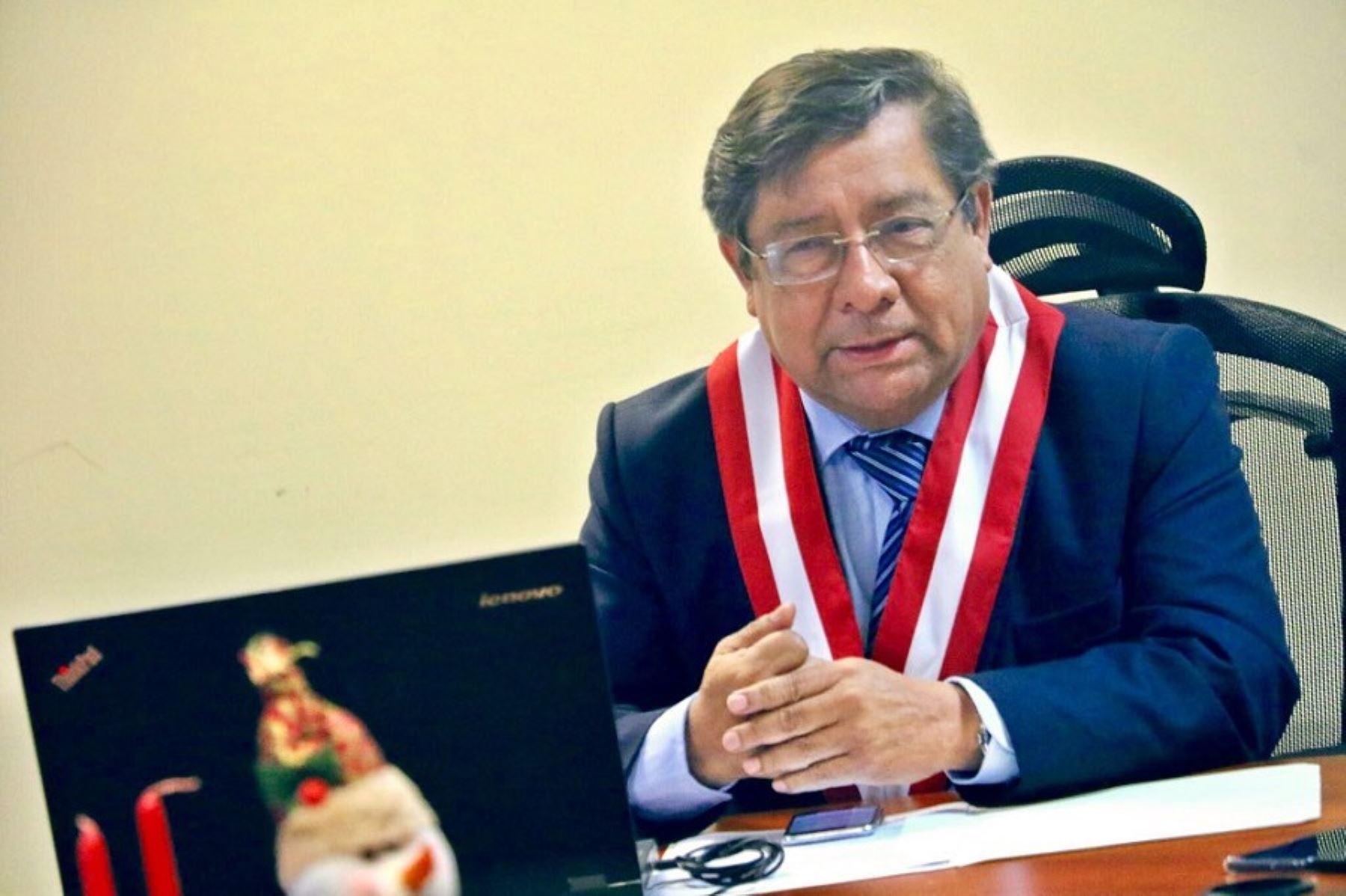 Orlando Velásquez, electo presidente del Consejo Nacional de la Magistratura (CNM).