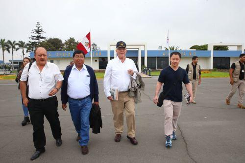 Presidente de la República, Pedro Pablo Kuczynski, viaja a la región Puno