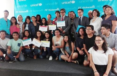 Minsa recalca compromiso de brindar salud de calidad a adolescentes. Foto: ANDINA/Difusión.