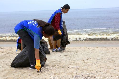 Minam encabezará limpieza de playas en San Bartolo y Cerro Azul. Foto: ANDINA/Difusión.