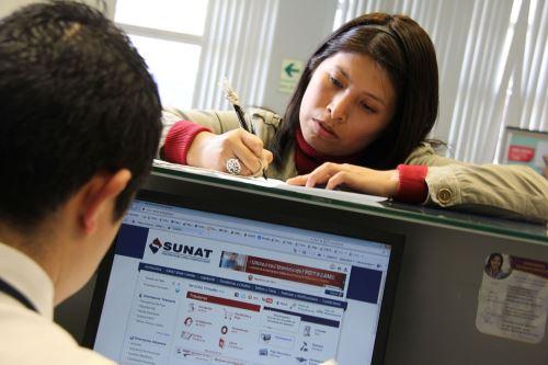 Sunat implementa consulta online gratuita para conocer devolución de impuestos