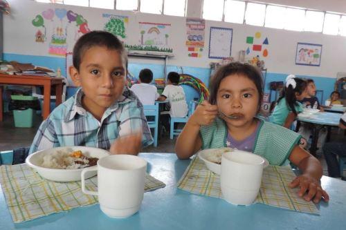 Qali Warma atenderá a 121,784 escolares en la región Lambayeque