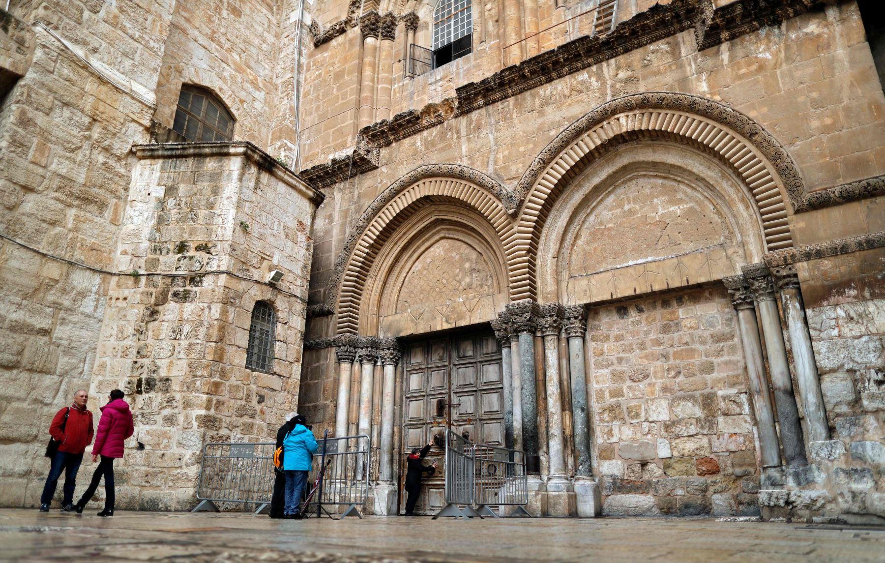 Iglesia del Santo Sepulcro de Jerusalén permanece cerrada. Foto: AFP