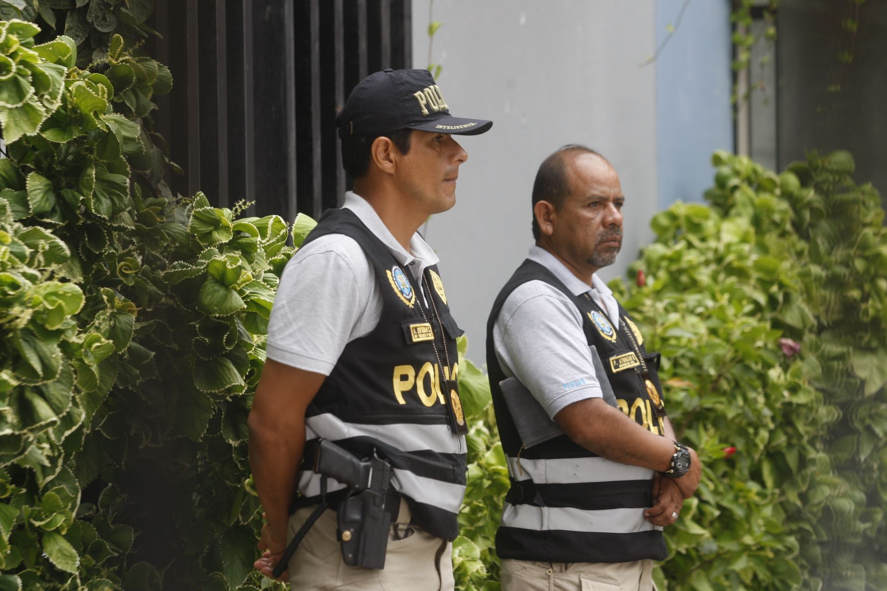 Fiscalía allana casa de Augusto Bedoya. Foto: ANDINA/Eddy Ramos.