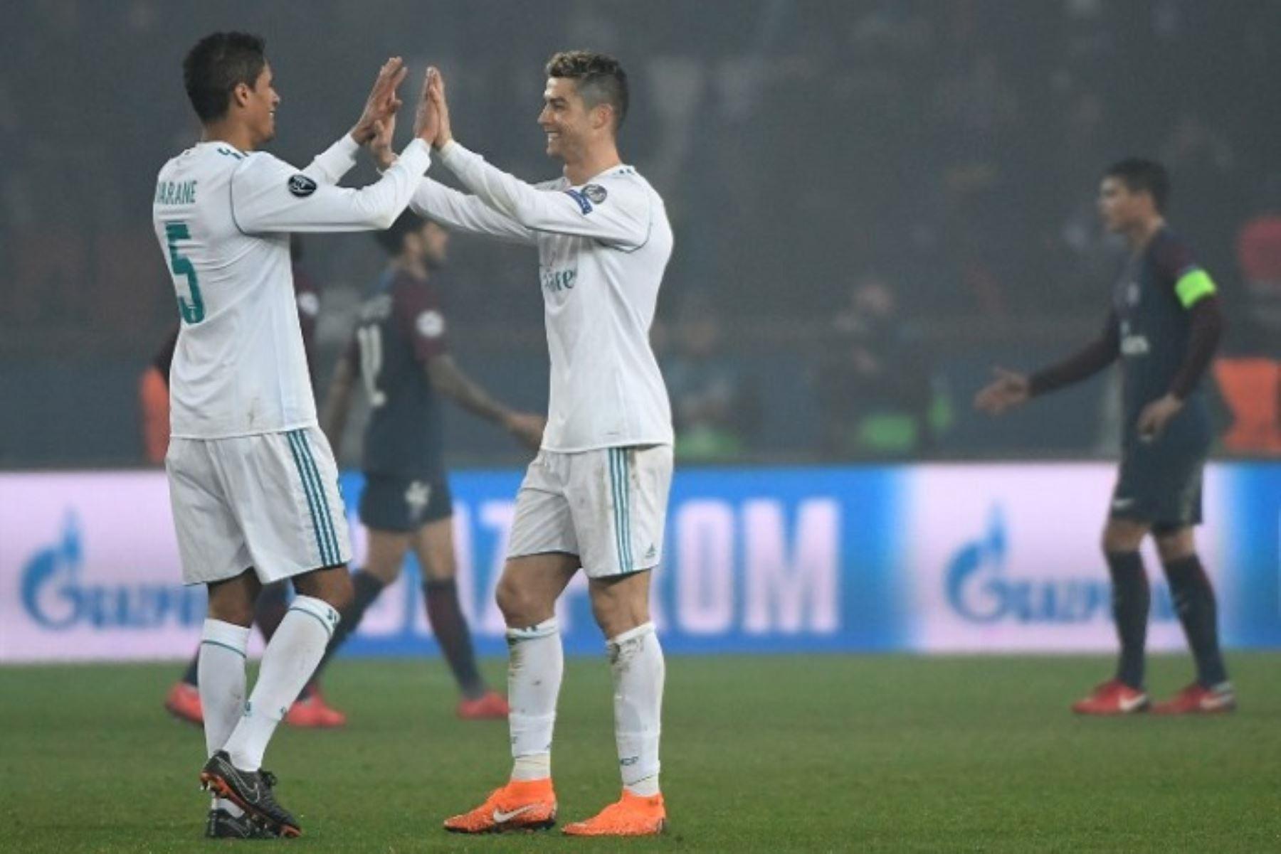 Real Madrid se impuso en el Parque de los Príncipes con gol de Cristiano Ronaldo.Foto:AFP