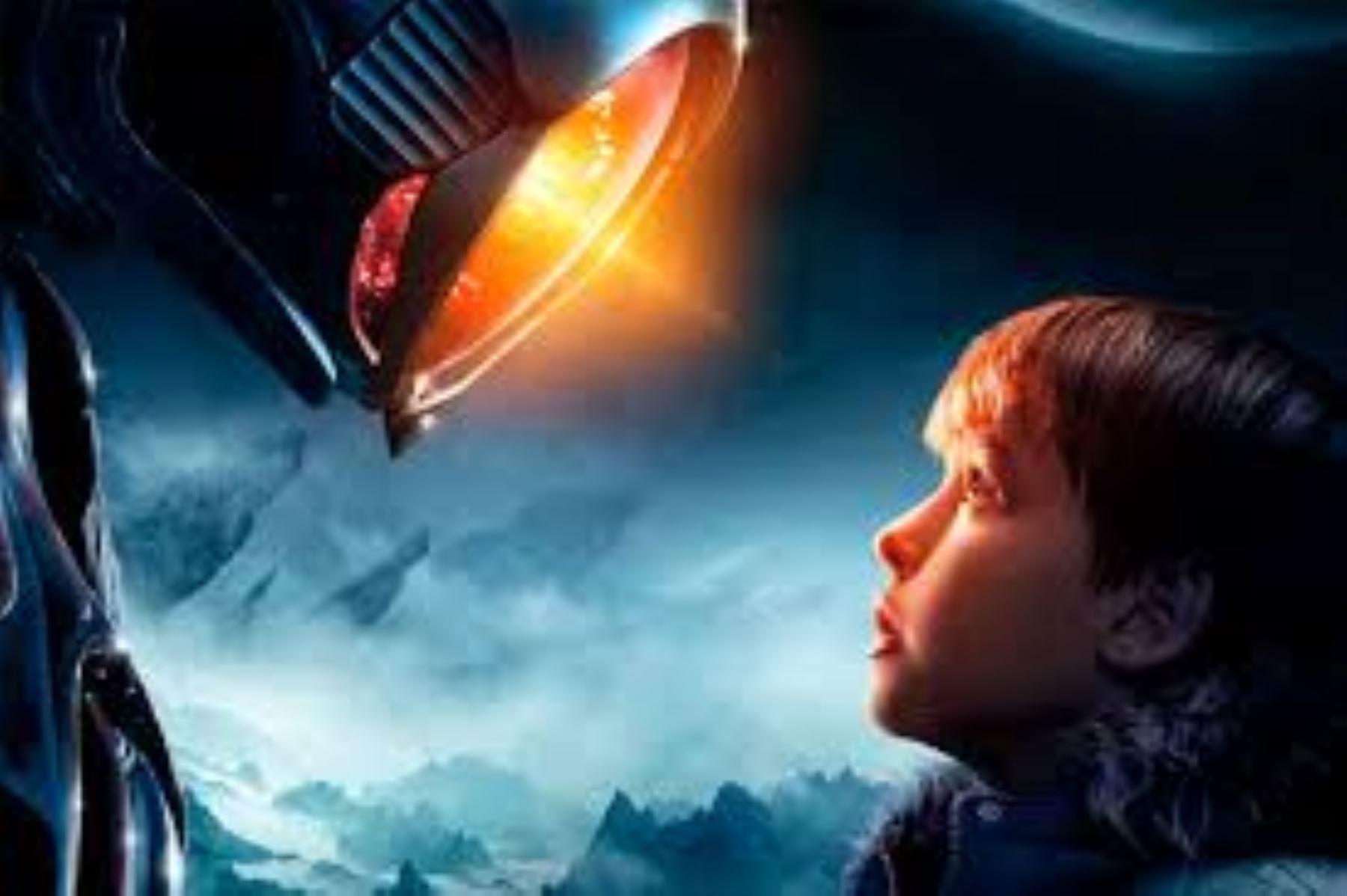 """Afiche del nuevo """"Perdidos en el espacio""""."""