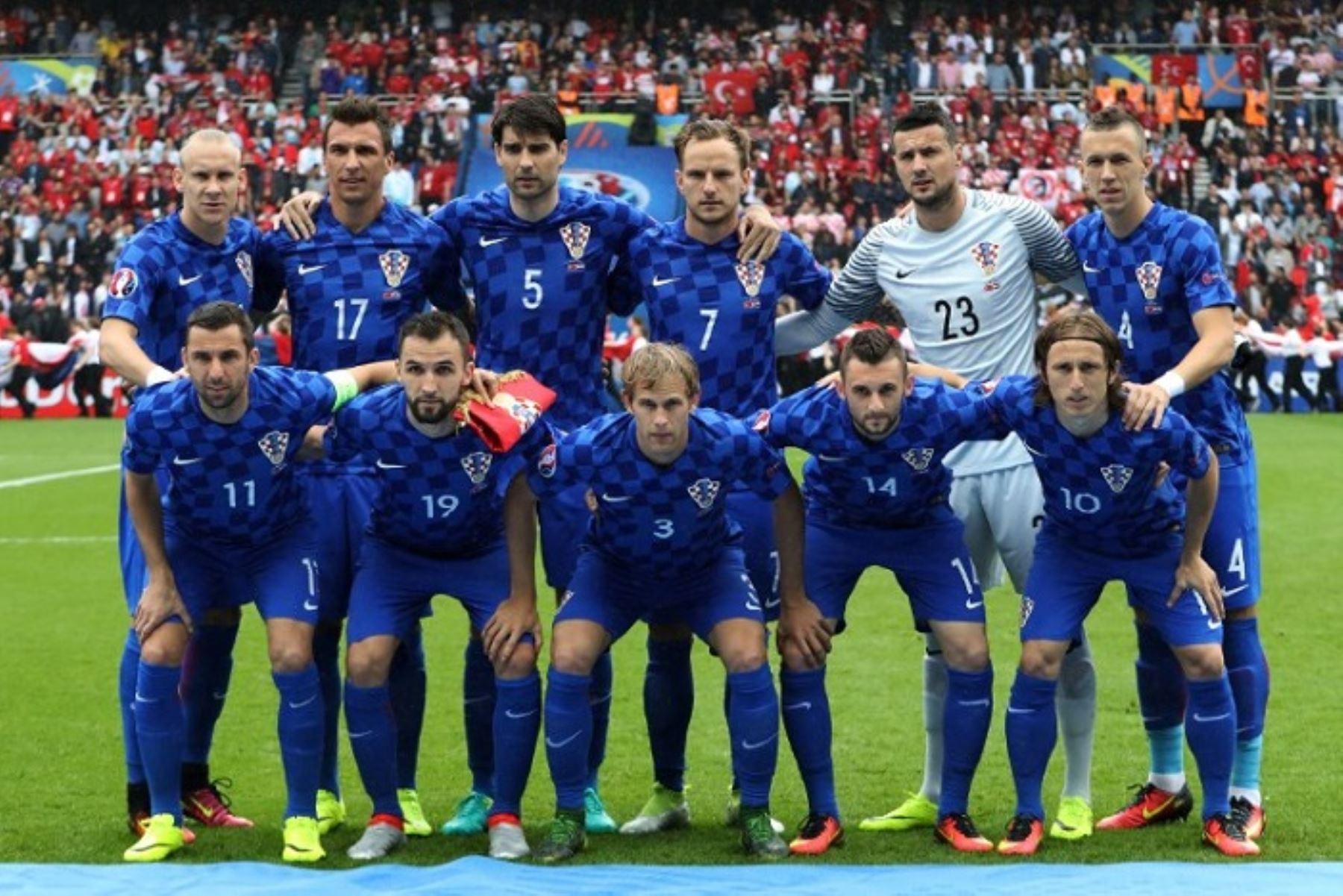 El seleccionado de Croacia que enfrentará Perú en Miami