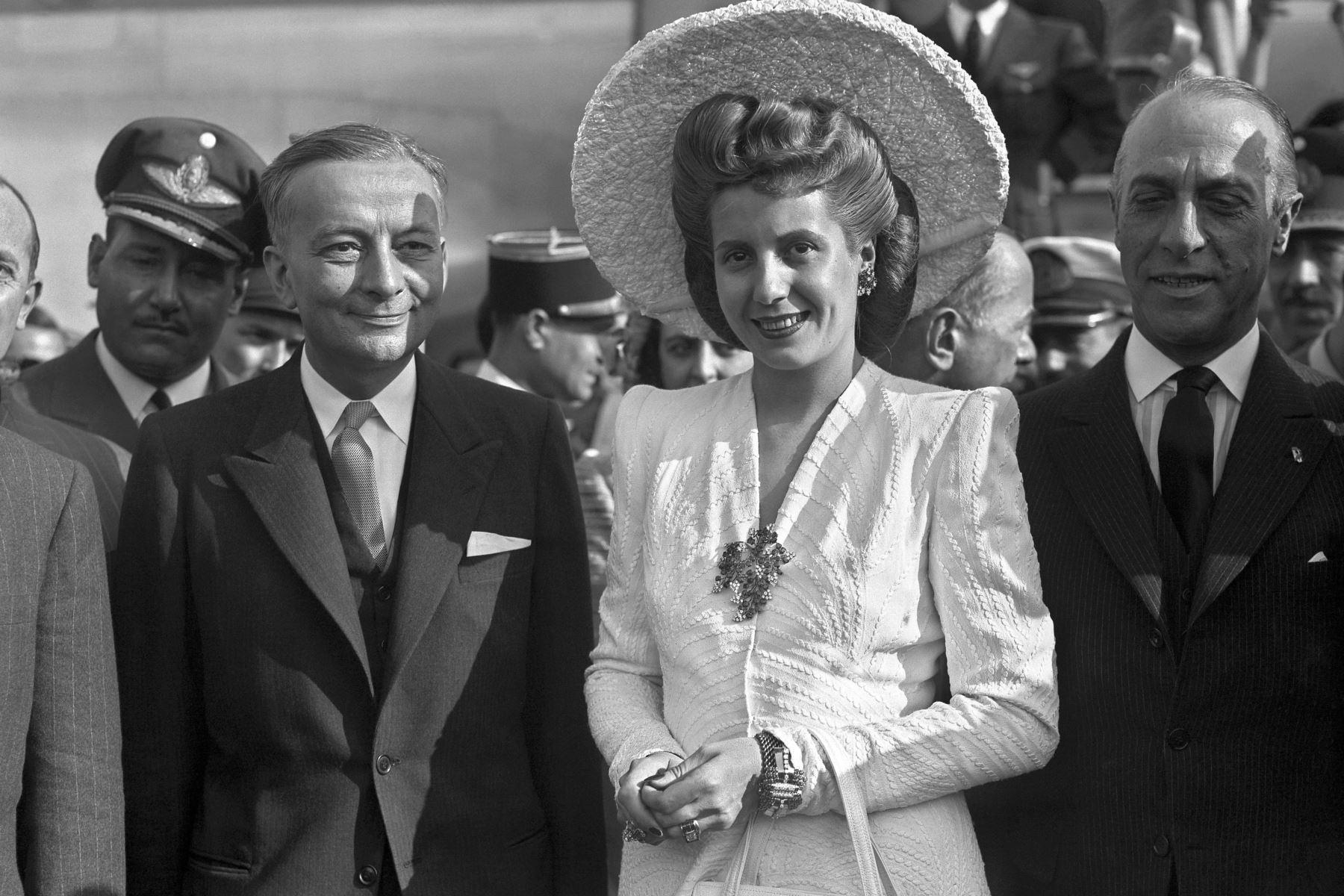 """Eva Perón (Política y actriz)  """"Nada valdría un movimiento femenino en un mundo sin justicia social"""".    Foto: AFP"""