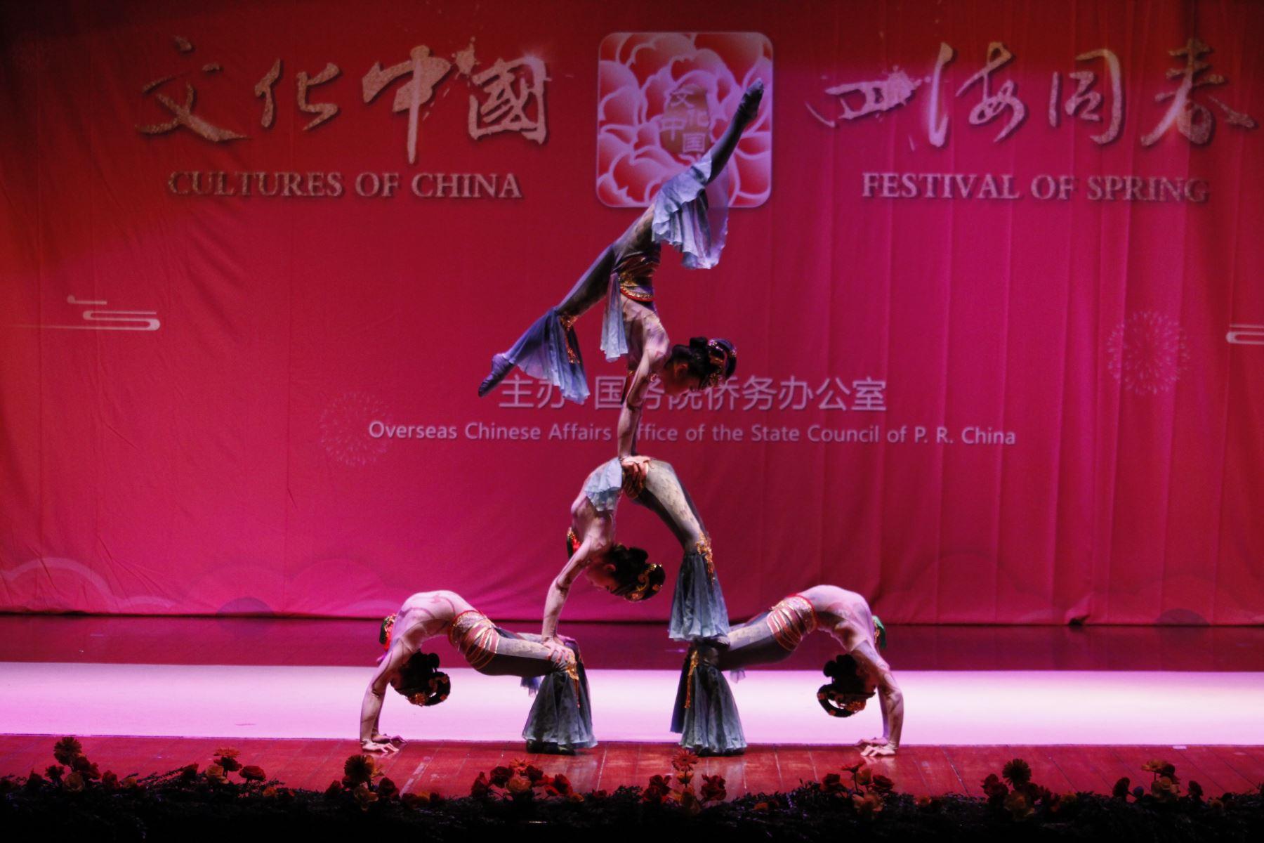 Elenco de acrobacia de China