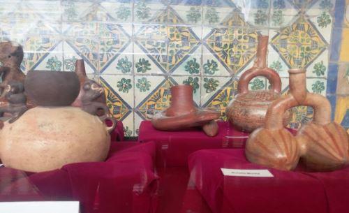 Ministerio de Cultura recibió 500 piezas arqueológicas repatriadas. Foto: ANDINA/María Fernández.