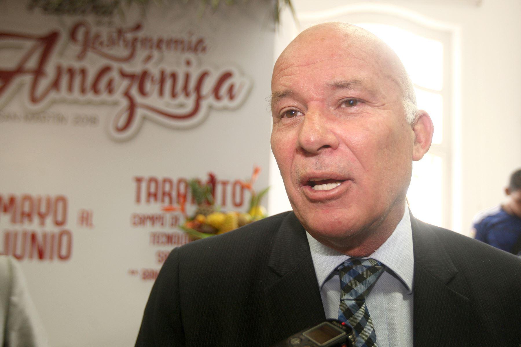 Ministro de Comercio Exterior y Turismo Eduardo Ferreyros. ANDINA  Héctor Vinces