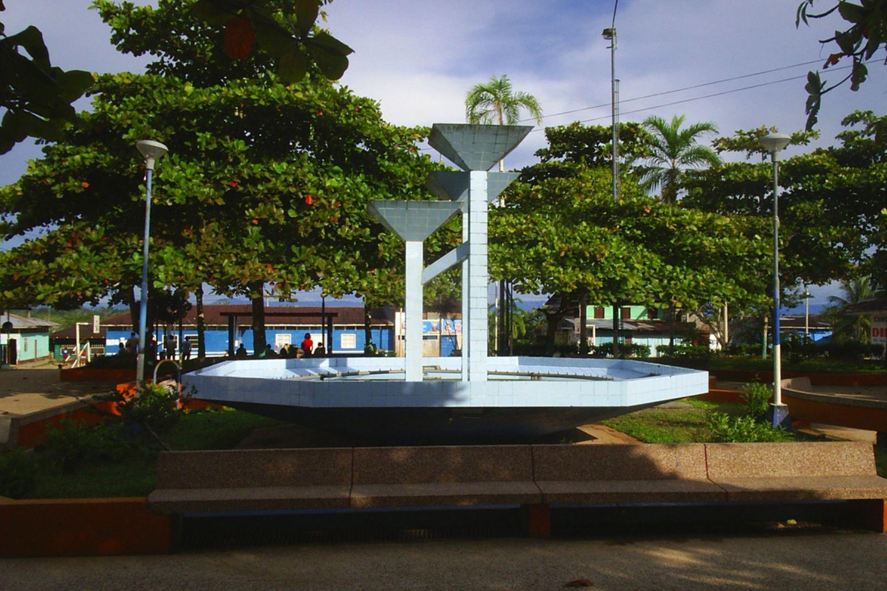 Puerto Bermudez, en Pasco, fue afectada por un fuerte sismo. Foto: Oxapampa.pe