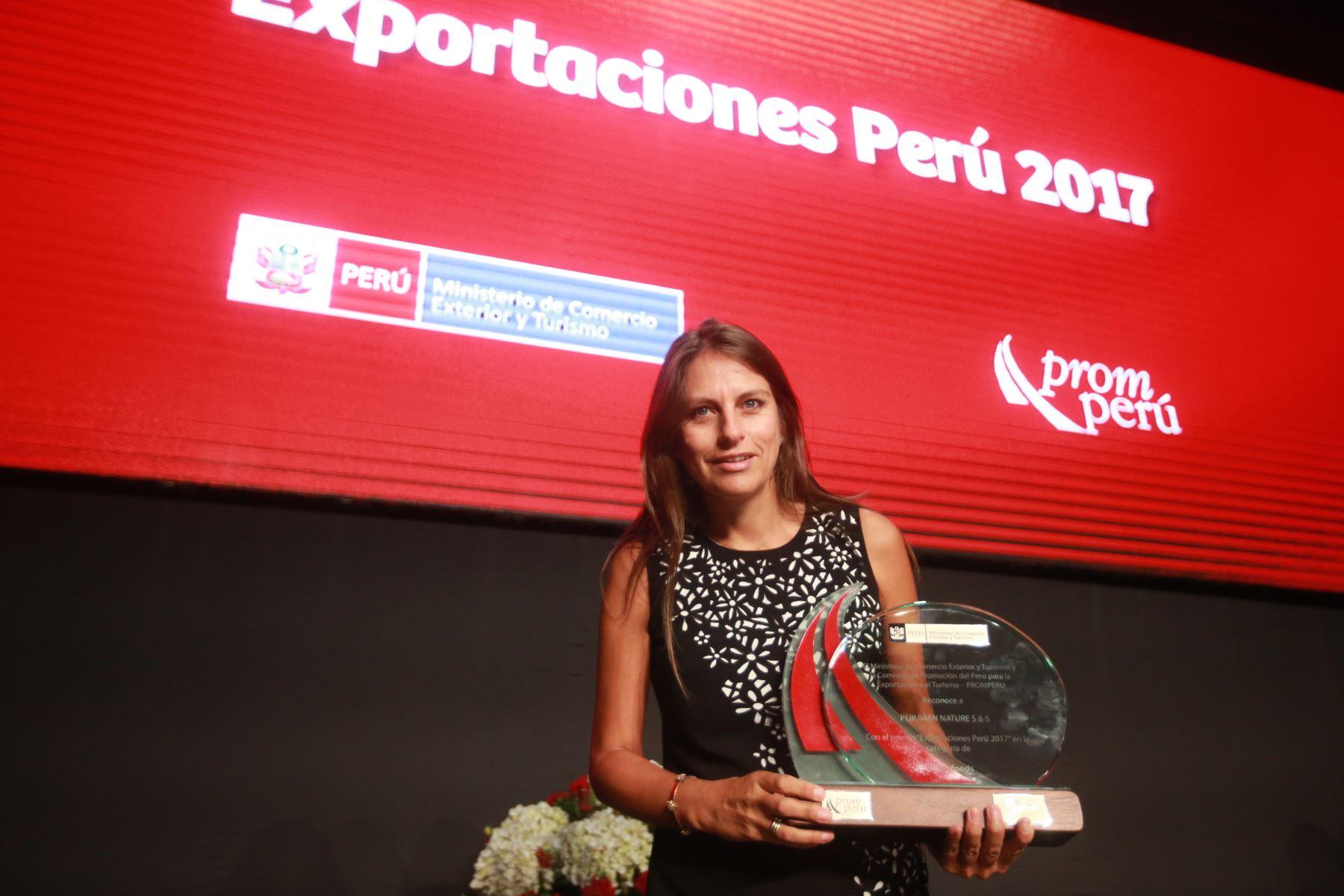 Gabriela Llontop, gerente de marketing de Peruvian Nature.Foto:  ANDINA/Jhony Laurente