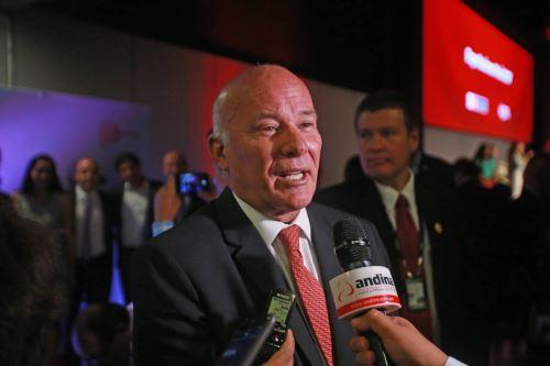 Ministro de Comercio Exterior y Turismo, Eduardo Ferreyros. ANDINA/Jhony Laurente