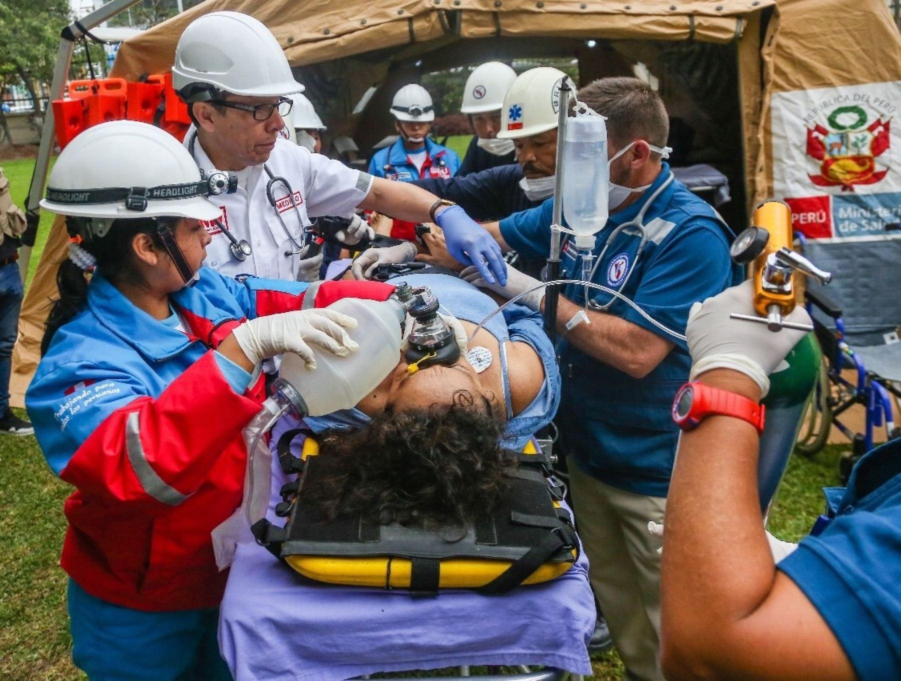 Capacitarán a rescartistas en respuesta a accidentes masivos