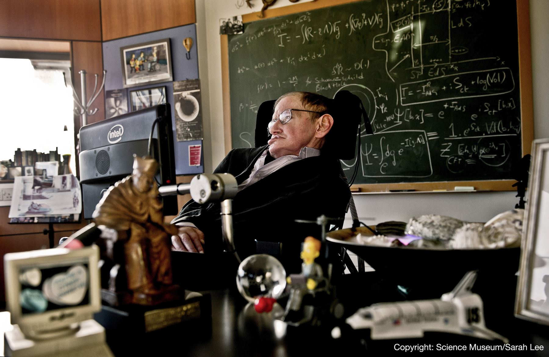 14/03/2018   Stephen Hawking: Foto: AFP