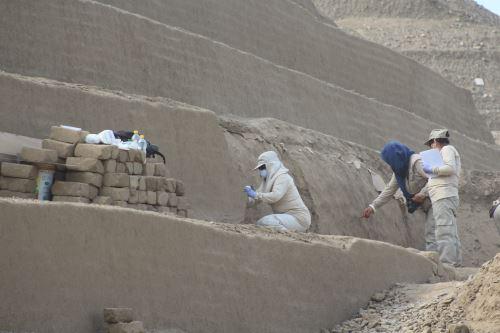 Conozca la tercera escalinata y otros objetos hallados en la huaca Toledo de Chan Chan