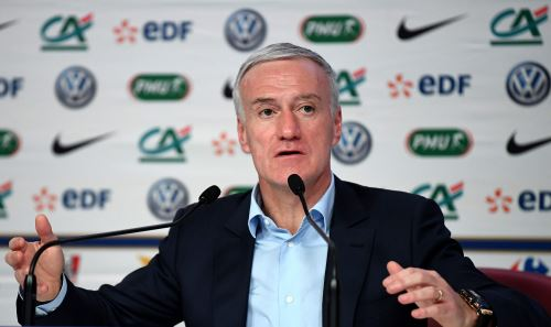 Entrenador de la selección de Francia, Didier Deschamps. Foto: AFP