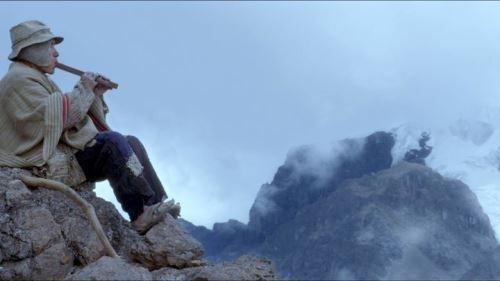 Escena de la película Wiñaypacha.