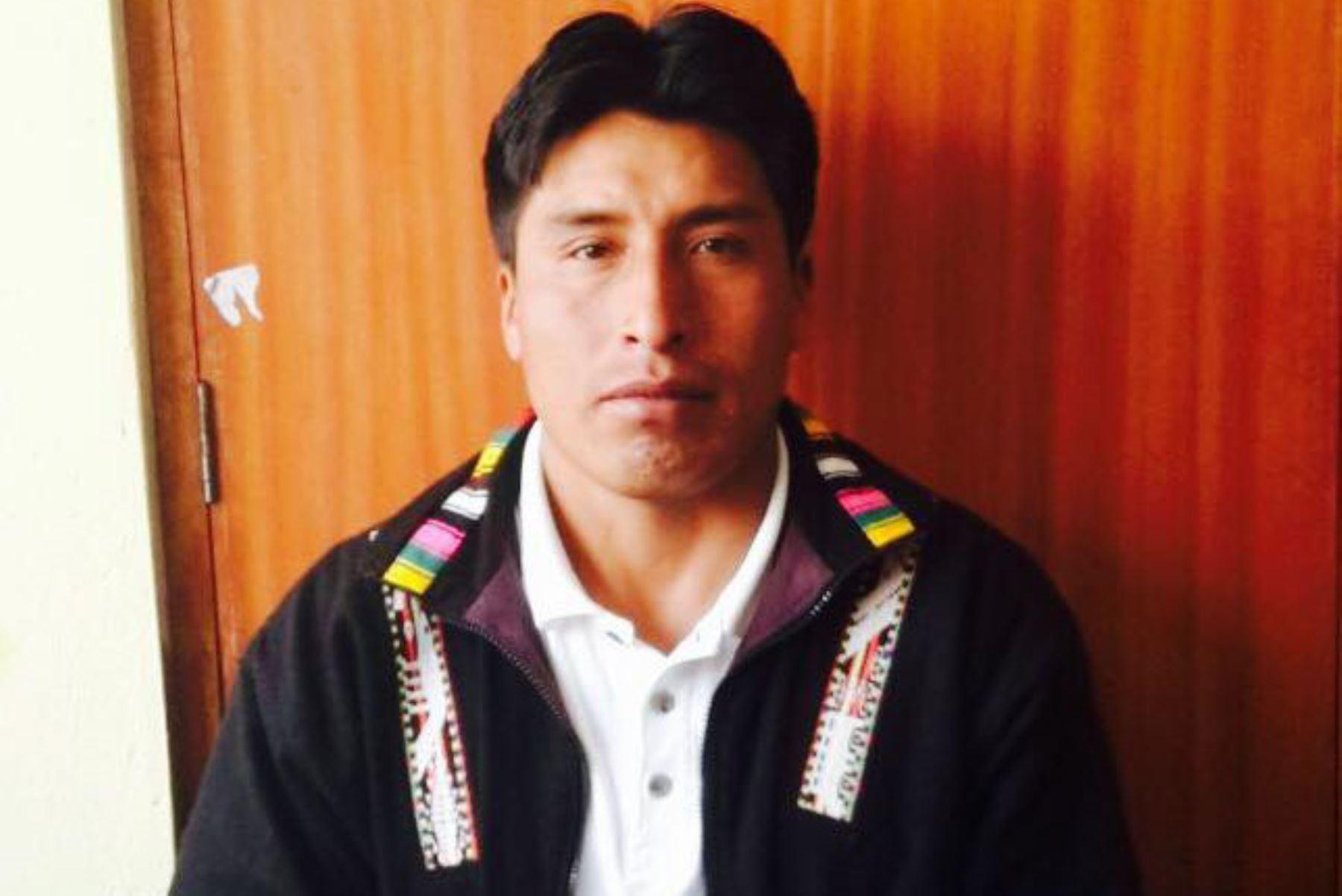Detienen a alcalde de Challhuahuacho, Antolín Chipani, por el presunto delito de lavado de activos. Foto: Cortesía