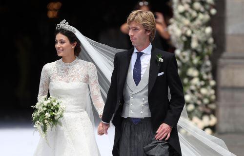 Boda de Alessandra de Osma y el Príncipe Christian de Hannover