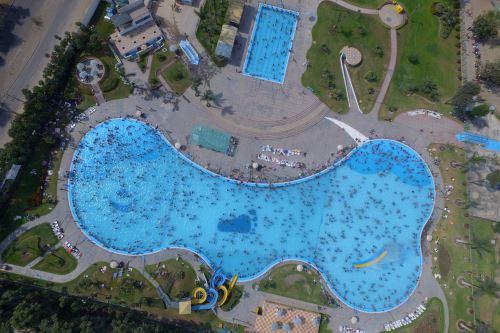 Fin de temporada de verano en las  piscinas
