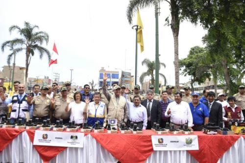 Ministro del Interior, Vicente Romero, tomará juramento a rondas campesinas de Chaparrí para fortalecer la seguridad ciudadana en ese distrito de la provincia de Chiclayo, región Lambayeque.