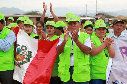 Rondas Campesinas de Chaparrí junto con la Policía realizarán esfuerzos conjuntos para garantizar la seguridad en el ámbito rural. ANDINA/Carlos Lezama