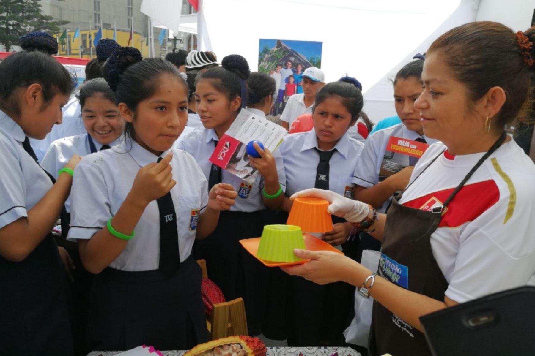 Devida busca aumentar consumo de chocolate en el país.ANDINA/Difusión