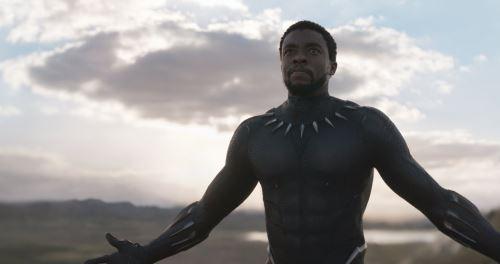 Escena de la película Pantera Negra
