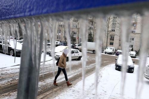 Postales de un invierno que sigue azotando al Hemisferio Norte