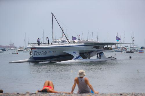 """Race for Water Odyssey"""" primera embarcación autosostenible del mundo llegó al Perú"""